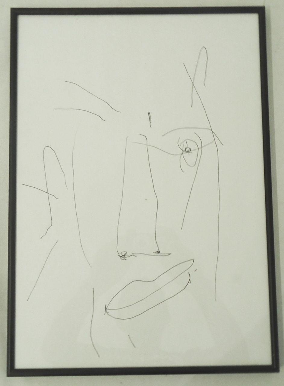 Técnica – Desenho s/ papel 40X30cm [AME059J]