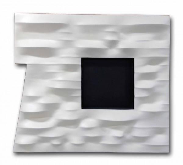 Fibra de vidro e resina goffrato 113X123X22cm [GS015]