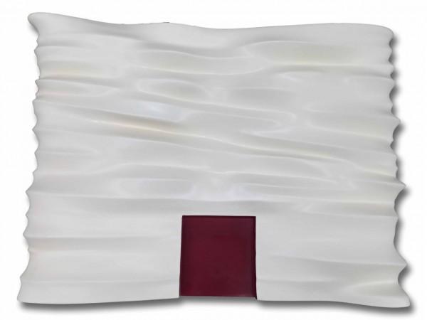 Fibra de vidro e resina goffrato 78X110X11cm [GS016]