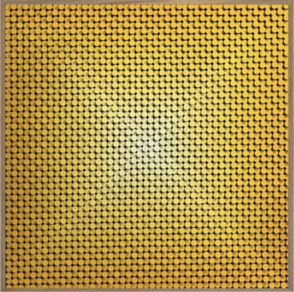 Técnica mista 123X123cm [JEA014]