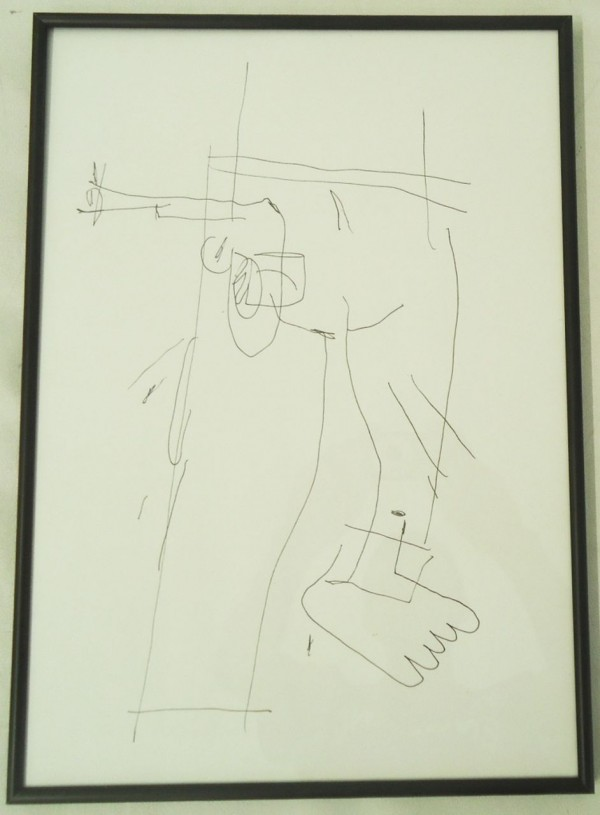 Técnica – Desenho s/ papel 40X30cm [AME059I]